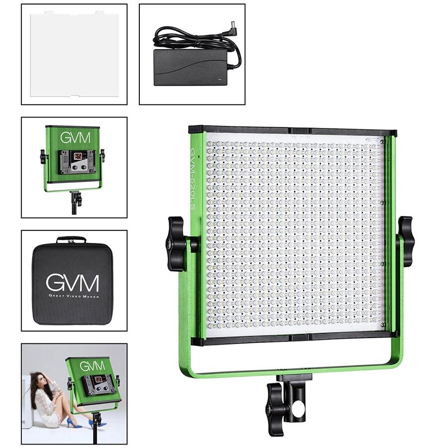 Gvm Photo Studio Led Ring Light: GVM 520 LED Video Light Photography Dimmable LED Studio