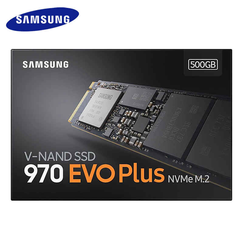 M2 SSD SAMSUNG M.2 SSD M2 1TB 500G HD NVMe SSD Hard Drive 970 EVO PLUS HDD Hard Disk 250GB Solid State drive PCIe for Laptop 4