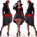 new Sexy Queen Halloween scary Costume For Women high quality witch Vampire Adult Fancy Dress Club Party Wear Costumes Halloween