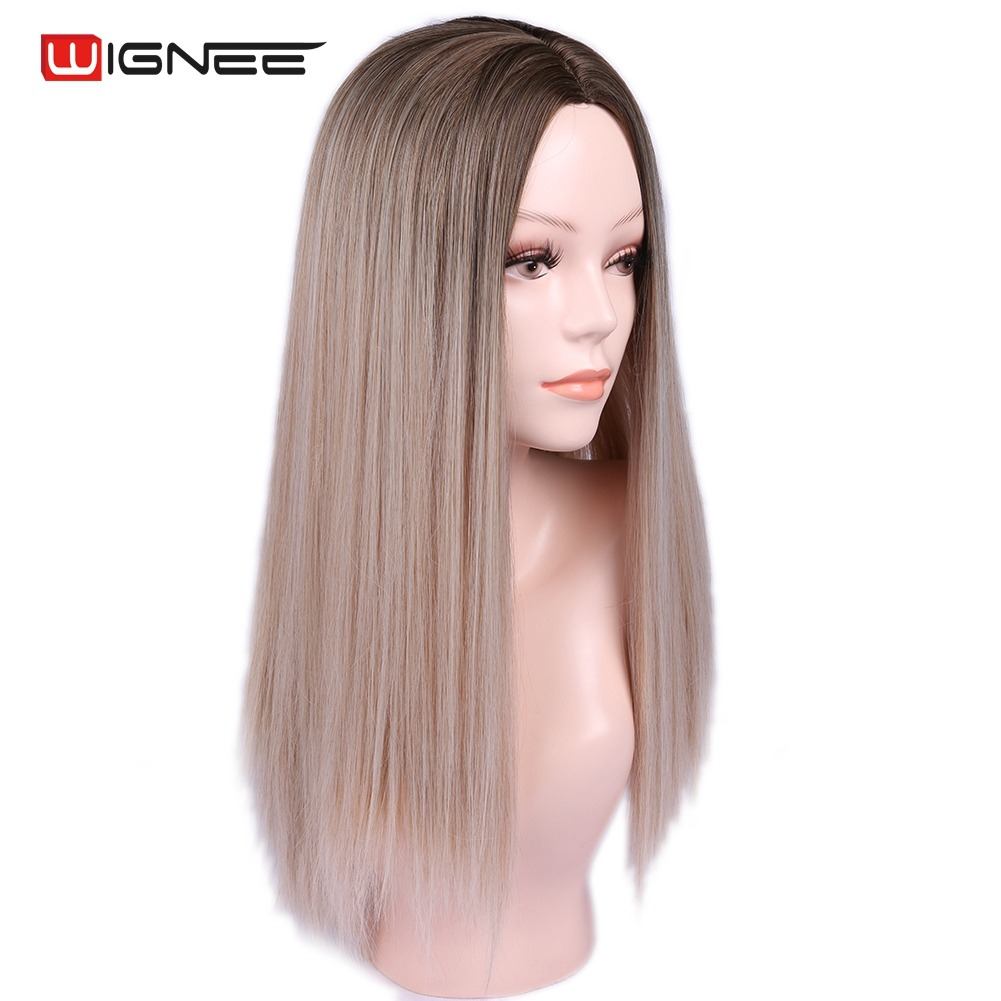 Synthetic None-lacewigs Miss U Hair Synthetic 80cm Long Straight Men Hair Ash Blonde Color Unisex Halloween Movie Cosplay Costume Wig Synthetic Wigs