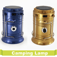 Ultra Bright Collapsible Emergency Latern Tent Portable Rechargeable Outdoor Camping Light USB EU Plug Solar For