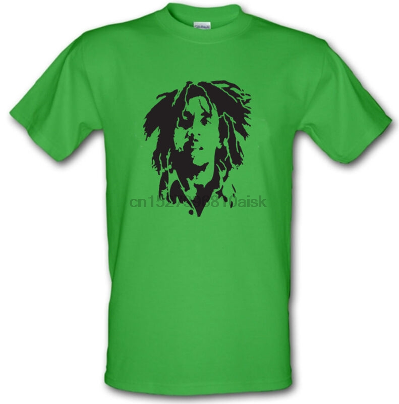 Xxl With The Best Service Bob Marley Reggae Legend Che Style Heavy Cotton T-shirt Sizes Small Men's Clothing