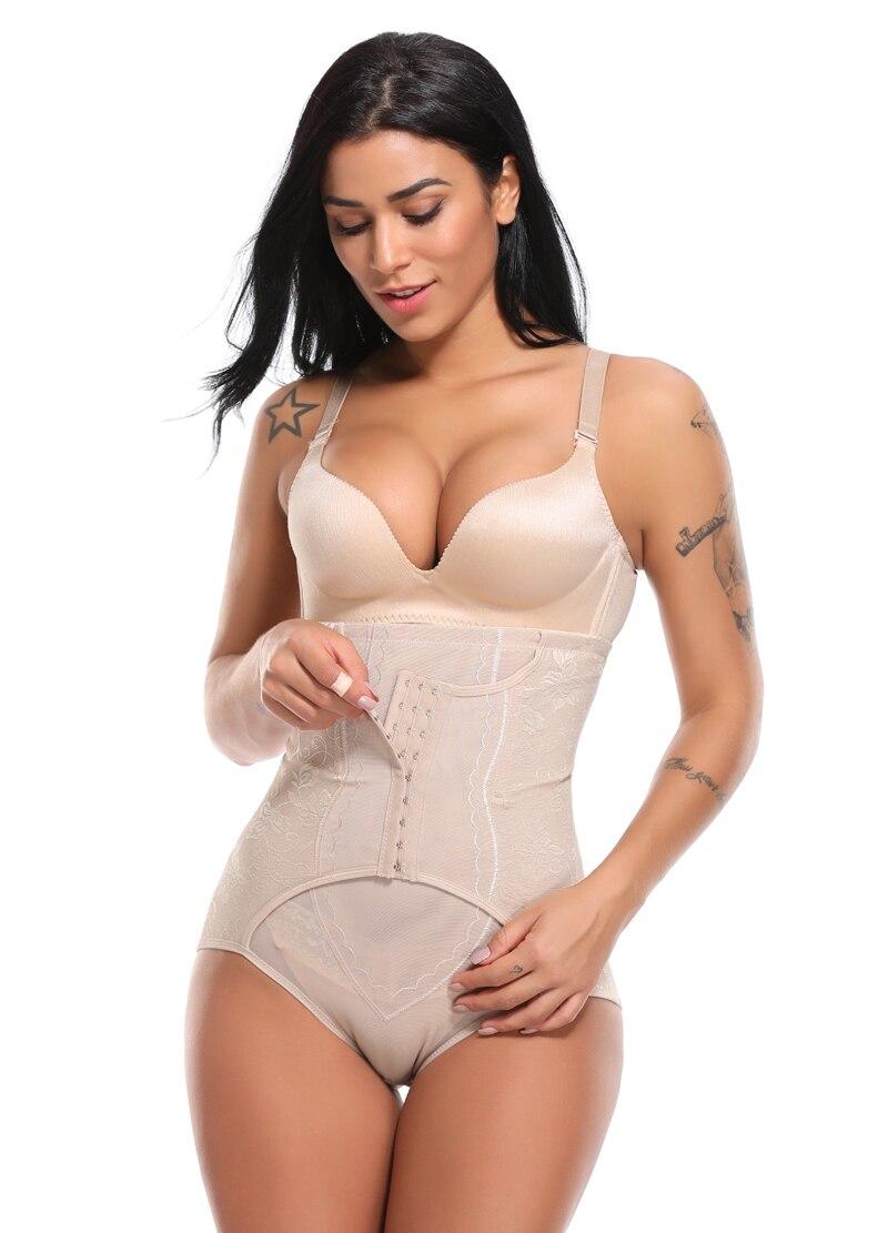 37cb831bc6b5d 2019 High Waist Trainer Tummy Control Panties Butt Lifter Body ...