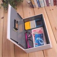 Storage Safe Box Dictionary Book Bank Money Cash Jewellery Hidden Secret Security Locker With Key Lock
