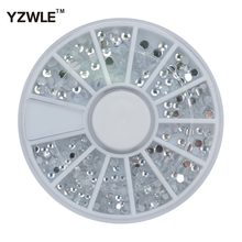 YZWLE 1 Wiel 3D Diy Ontwerp Nail Art Decoratie/Nail Sieraden/Nail Tool, perfect Gebruik Voor Nail Salon (ZH-72)(China)