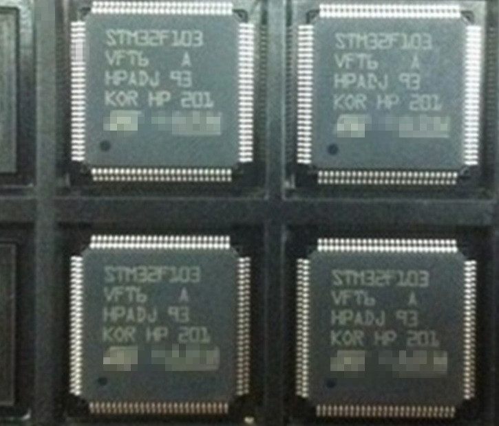 10 PCS LOT STM32F103VFT6 32F103VFT6 LQFP100 NEW