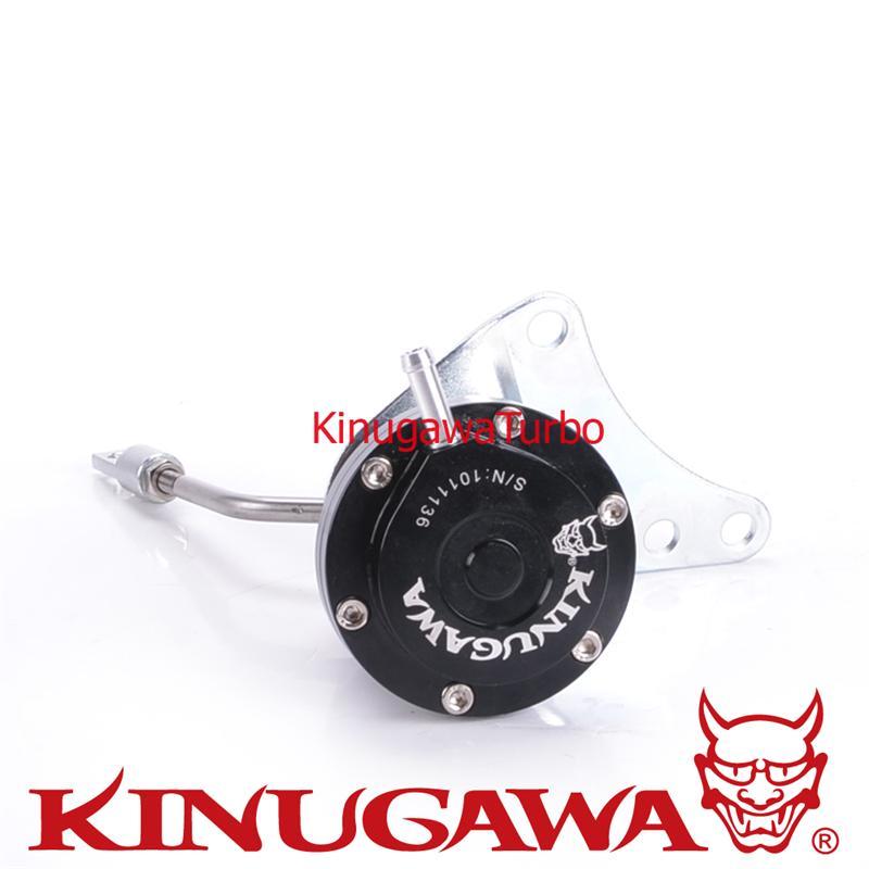 Kinugawa Adjustable Turbo Wastegate Actuator for SUBARU T518Z Hsg Twin Scroll Turbine Hsg 1.0 bar / 14.7 Psi hankel hsg 2764 z