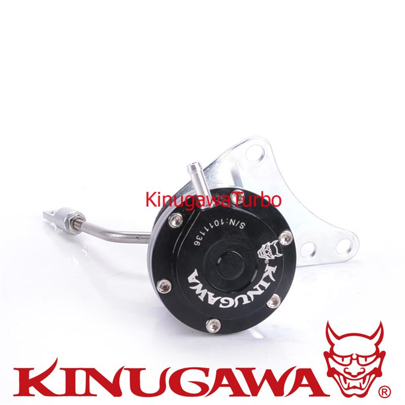 Kinugawa Adjustable Turbo Wastegate Actuator for Subaru T518Z Hsg Twin Scroll Turbine Hsg TD05H TD06SL2 TypeC 1.0 bar / 14.7 Psi