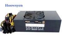 Mining Case Eth DASH Miners Power Supply 1200W ATX Server Power 4P 6P 8P 24P Connectors
