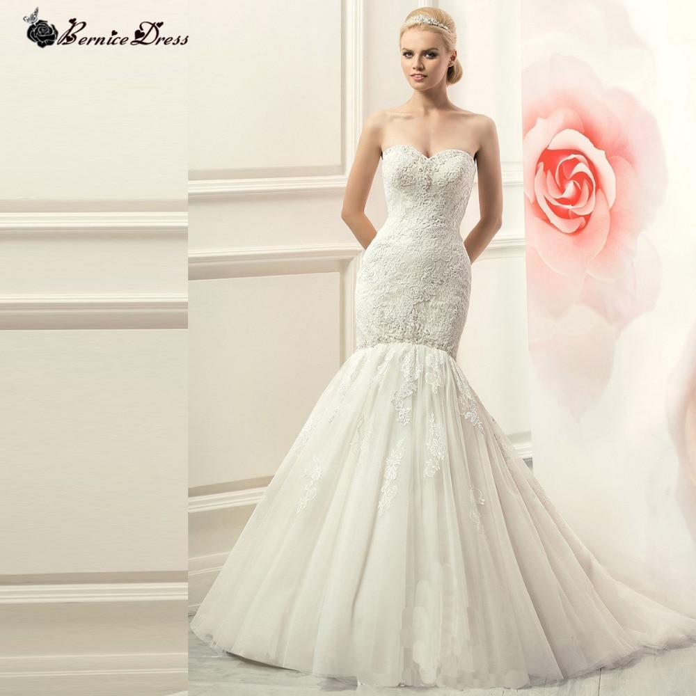 Elegant Mermaid Wedding Dress Vernassa 2015 Vestido De