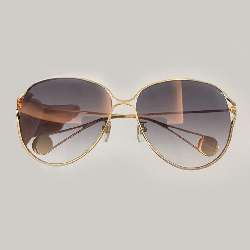Feminino Objektiv Sunglasses Designer Sol Marke Pilot No Schutz Oculos Uv400 Qualität 2 Frauen Box Mit Sunglasses 1 Hohe Sonnenbrille Verpackung no De wZqg1B7q