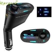 CARPRIE Súper nave de la gota Nuevo LCD Reproductor MP3 Transmisor FM Inalámbrico Con USB SD Mmc remoto Mar717