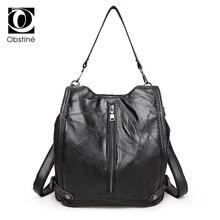 Мода многофункциональный женщины рюкзак из натуральной кожи высокое качество ранец Школьные сумки для подростков женские рюкзаки