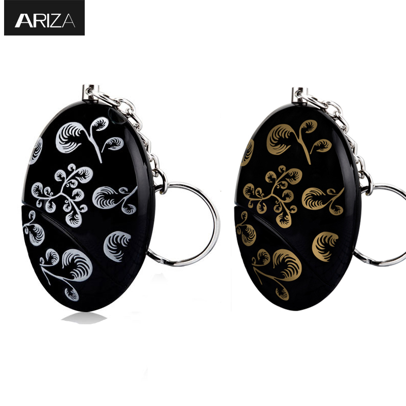 Ariza 2pcs self defense personal safety alarm emergency panic alarm security alarm 120db loud anti-lost for women girls elderly 2016 2pcs a lot self defense supplies alarm personal key ring protection alarm alert attack panic safety security rape alarm