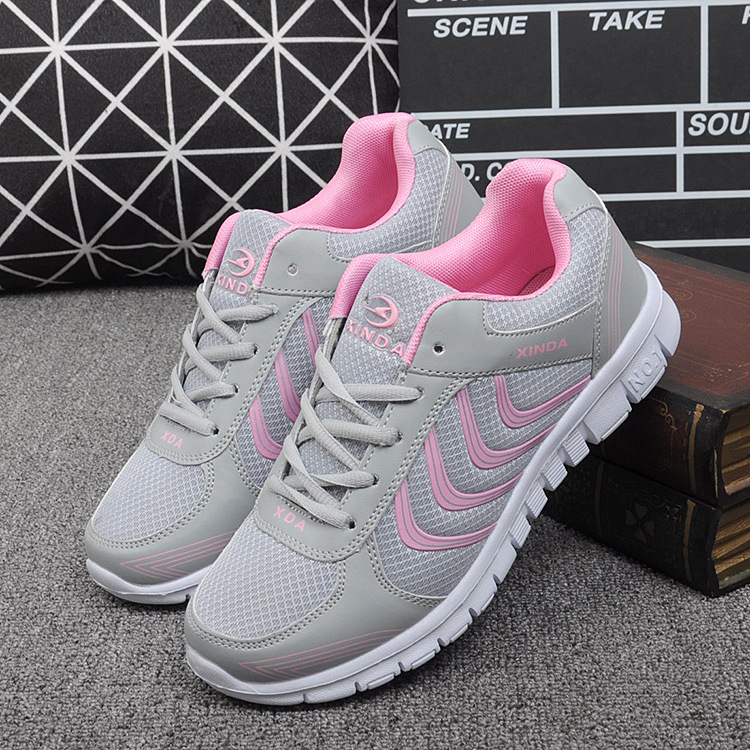 666ad5dc03de New Arrival Women Running Shoes Breathable Mesh Sneakers Male Sports Shoes  Training Running Shoes Trainer Green Big Size 44