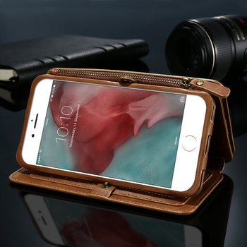 FLOVEME PU Leather Case For iPhone 11 X 8 7 6s 6 Plus Retro Wallet Cover For iPhone XS Max XR X 11 Pro Max Protective Phone Bag 3