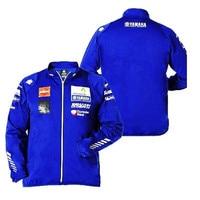 MotoGP Racing Team Uniform Jacket For Yamaha M1 Racing Team Printing Zip up Windbreaker Lightweight Moto Jacket