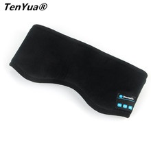 TenYua Wireless Bluetooth Earphone Sleep Mask Phone Headband