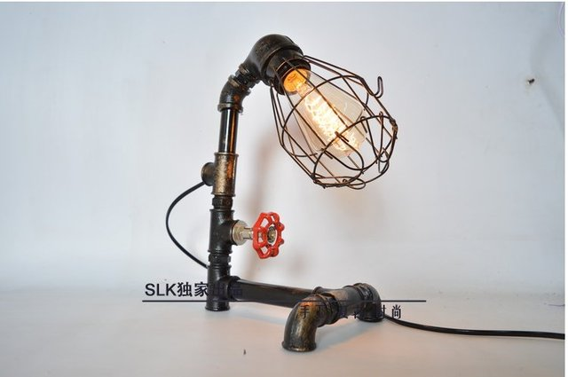 Led Lampen Industrie : Edison birne rohr lampe vintage industrie retro stil stahlrohr