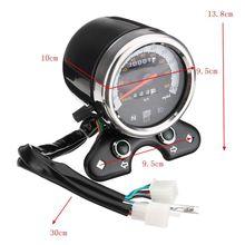 Motocicleta Odômetro Velocímetro Tacômetro Velocímetro Medidor para Suzuki do Piloto do Café