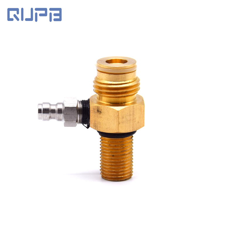 Paintball Co2 Tank Pin Valve Copper Male 5/8