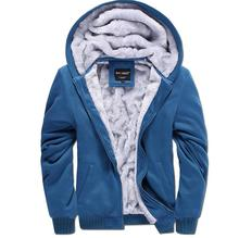 New 2015 Men s Fleece Hooded Winter Baseball Uniform Motion Plus Hair Thickening Of Men s