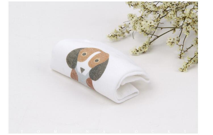 2017 New 3D Print Socks Animal 85% Combed Cotton Cute Socks Women Japan Harajuku Dog Cat Pug Socks for Women Girls