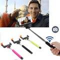 Trípodes monopod de mano extensible autorretrato selfie stick inalámbrico bluetooth para el iphone samsung xiaomi huawei