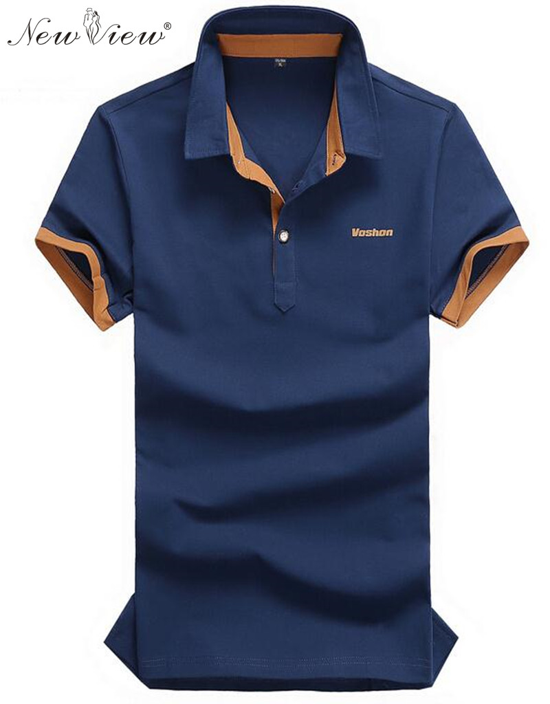 2016 new polos cotton men 39 s polo shirts short sleeve for Cotton polo shirts for men