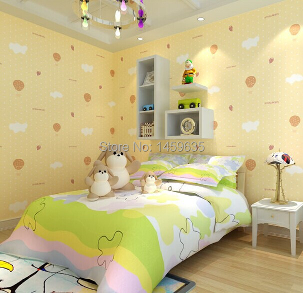 Non-woven wallpaper children's room warm pastoral pink bedroom wallpaper cartoon wallpaper shop for environmental protection beibehang warm pink girl room wallpaper children s room non woven three dimensional love childrens clothing shop wallpaper