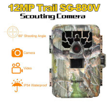 Free shipping!8GB SG-880V No Glow 12MP Mini Infrared IR Digital Trail Game Hunting Camera DVR