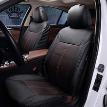 2017New Lujo Cuero De LA PU Auto Universal Fundas de Asiento de Coche del asiento del Automóvil cubierta para el coche peugeot 206 para lada kalina coche en caliente