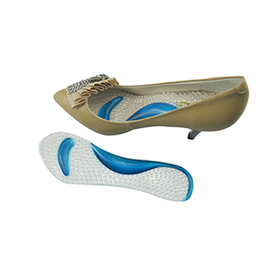 1Pair Soft Gel Insole 3/4 Lady Shoe Pad With Non-Slip Arch Support - Penjagaan kesihatan - Foto 6