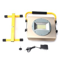 NEW Safurance 100W Portable Work Light Rechargeable 100 LED Flood Spot Lamp Traffic Light Roadway Safety