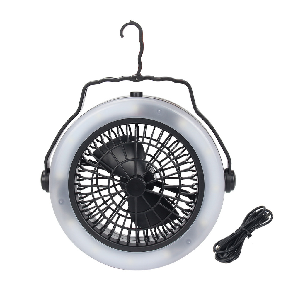 US $15 22 18% OFF|Led Multifunction Three in one Power Supply Recharge  Outdoor Camping Fan Light Camping Tent Lights 360 Degrees Arbitrary  Angle-in
