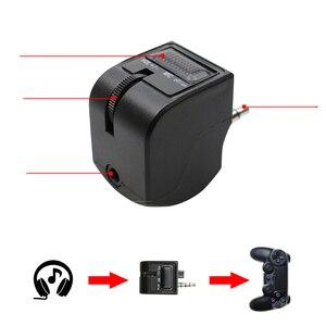 Image 5 - Adaptador de auriculares Mini con mango de 3,5mm, Control de voz, accesorios para videojuegos, PS4, PSVR, PS4, VR