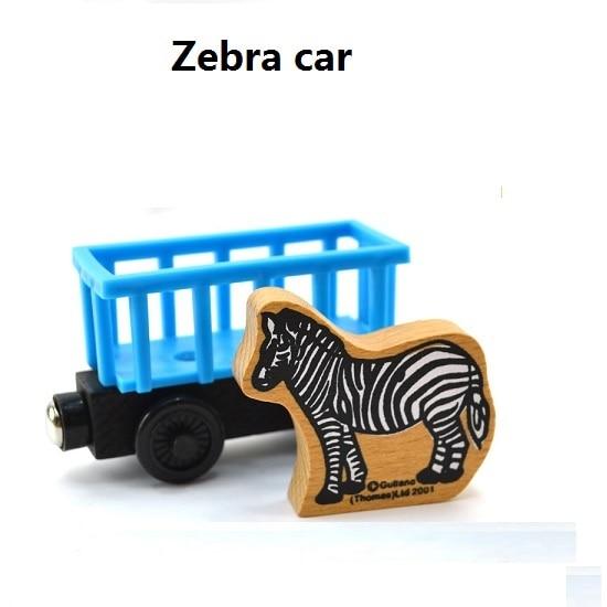 Деревянные магнитные паровозики, игрушки для железной дороги, деревянные паровозики для детей, подарок для детей, модель поезда - Цвет: Шампанское