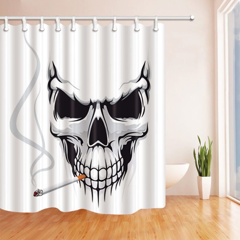 Halloween Bloody Shower CurtainHelp Me With Hands Horror Scary SpookyWaterproof Bath Curtains Bathroom Decor Hooks In From