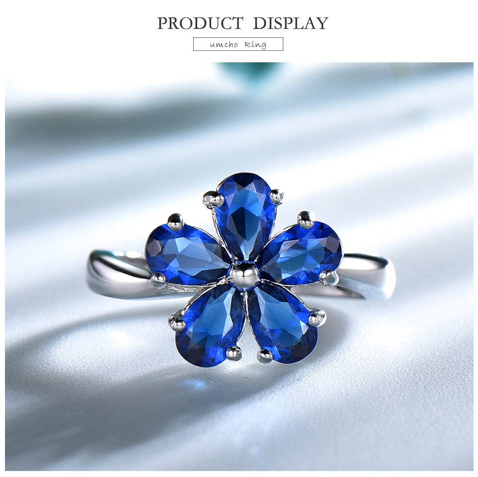 UMCHO Created Nano Sapphire 925 sterling silver rings for women EUJ091S-1-pc (3)