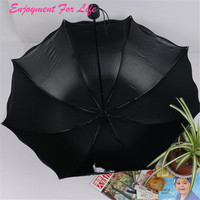 Flouncing Katlanır Lotus Toptan Yüksek Kalite Sıcak satış Yaprakları Prenses Dome Şemsiye Güneş/Yağmur Şemsiye Ücretsiz Nakliye Aralık 22