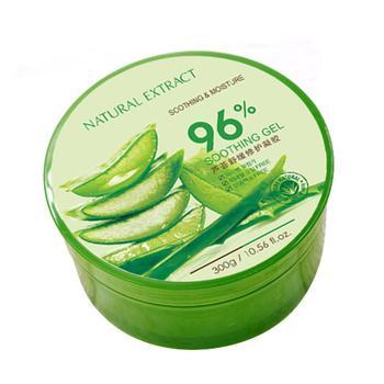 Gel de Aloe Vera 96% Natural crema hidratante facial acné reparación cuidado de la piel ácido hialurónico Anti Winkle crema protector solar Aloe Gel