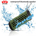 Waterproof Kuge Outdoor Bluetooth Speaker Portable Wireless Stereo Subwoofer Loudspeaker for Bicycle Mic TF Card Slot+AUX+Gift