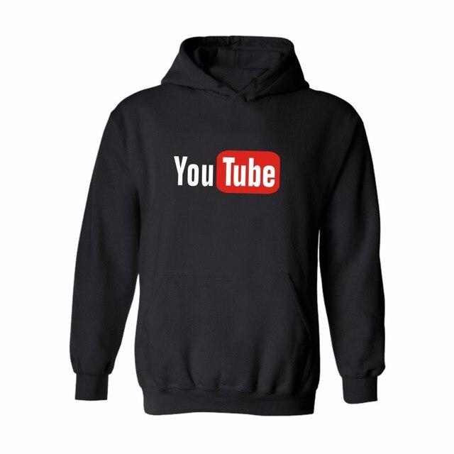 5aa739074d 2016 último Youtube diseño de moda Sudadera con capucha de los hombres  mujeres Sudaderas con