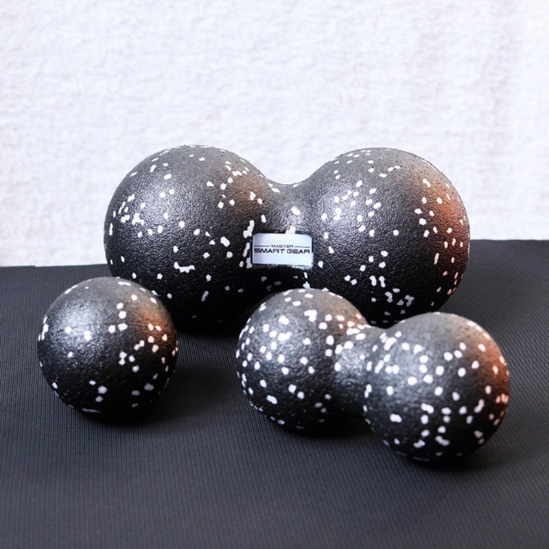 Procircle EPP Fitness Peanut Massage Ball Lacrosse Ball For Shoulder Back Legs Rehabilitation Therapy Training