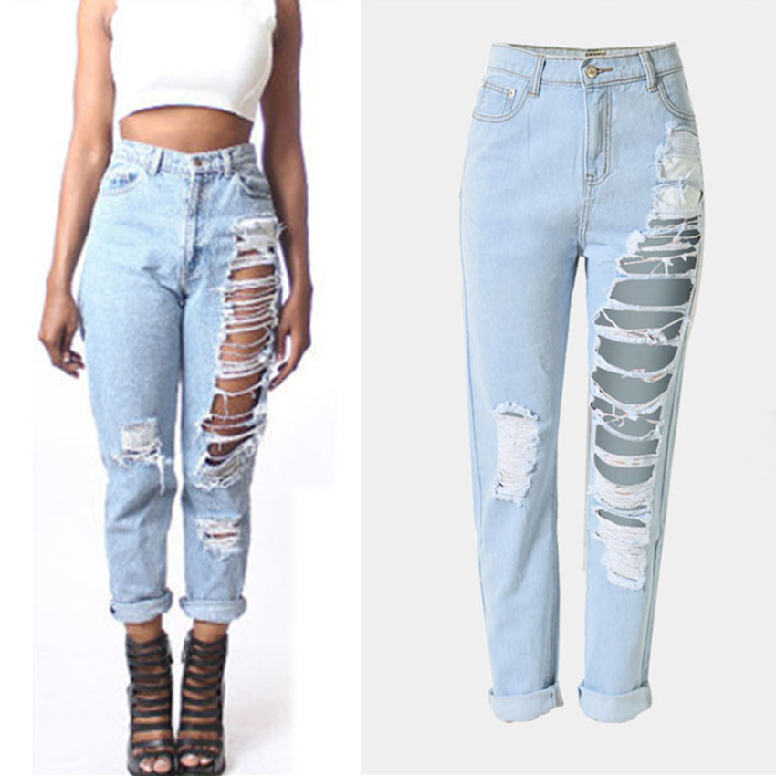 Online Get Cheap Ripped Denim Jeans -Aliexpress.com | Alibaba Group
