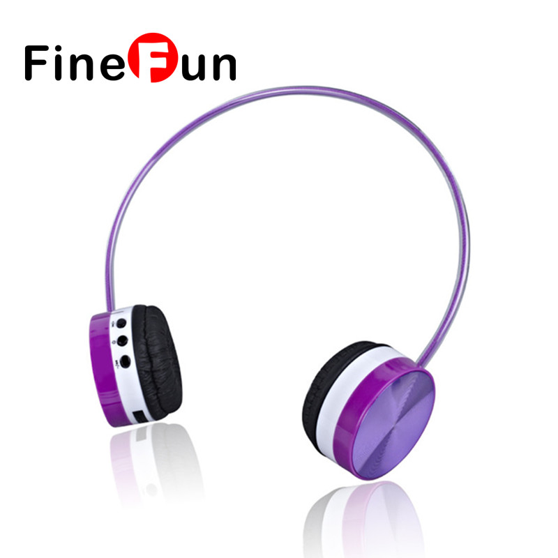 ФОТО FineFun K-894 Sports Wireless Bluetooth Stereo Headset Headphones Earphones Foldable With 3.5mm Audio in Noise Cancelling