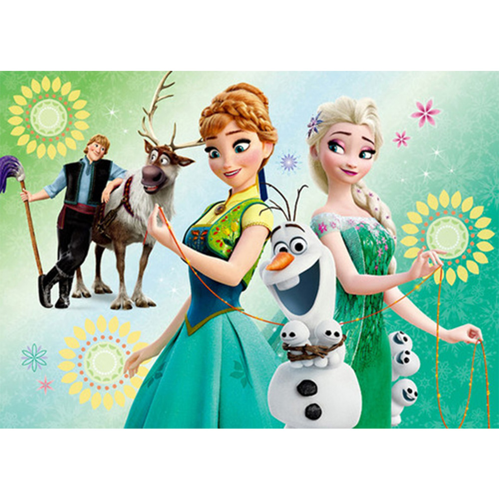 Kai ping mei park inlaid diamond full of ice cartoon - Frozen cartoon wallpaper ...