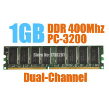 MLLSE New Sealed DIMM DDR 400Mhz 1GB PC-3200 memory for Desktop RAM,good quality!compatible with all motherboard!
