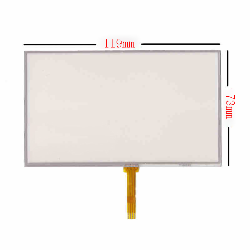 5 0 4Wire Resistive Touch Screen Panel Digitizer for Explay PN 980 PN 930 PN 935