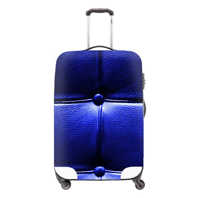 Elegante cobertura de bagagem à prova d ' água, Simples padrão spandex proteja Covers para 18 - 30 polegada mala, Elastic poliéster cobertura de bagagem
